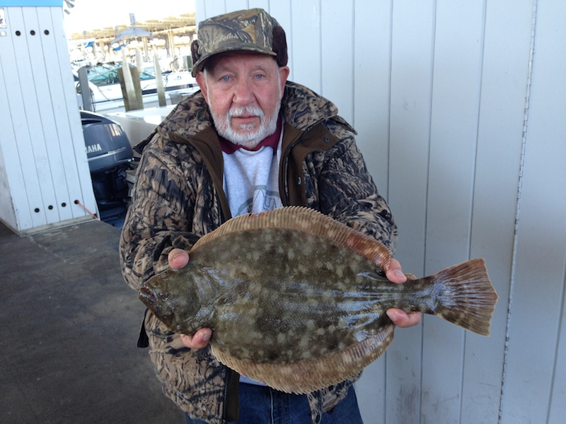 Texas bay flounder Frazier Guide Services