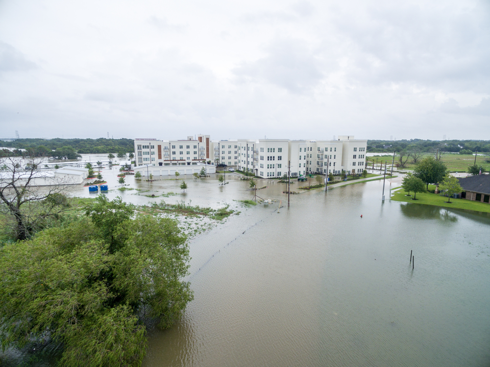 Hurricane Harvey's effects on League City, TX
